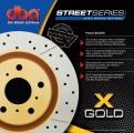 Brzdové kotouče DBA na Dodge Durango 2WD/4WD (98-02) - přední DBA-2440X