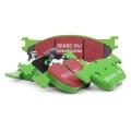 Přední brzdové destičky EBC Greenstuff na Daewoo Espero 1.5 (95-97)