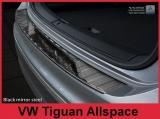 Kryt prahu zadních dveří VW Tiguan II / Tiguan Allspace, - černý grafit lesklý