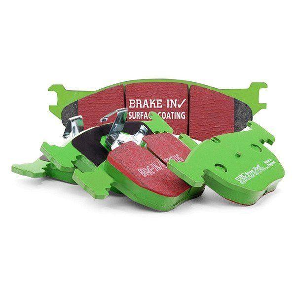 EBC Brakes Přední brzdové destičky EBC Greenstuff na Ford Mondeo Mk3 Sedan/Hatchback 1.8 (00-04)