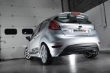 Catback výfuk Milltek Ford Fiesta Mk6 1.0T EcoBoost 100-140PS (13-17) - verze Road+ - koncovka černá