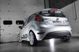 Catback výfuk Milltek Ford Fiesta Mk6 1.0T EcoBoost 100-140PS (13-17) - verze Road+ - koncovka karbonová