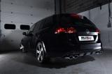Catback výfuk Milltek VW Golf 7.5 R Kombi 2.0 TSI 310PS (18-) - verze s rezonátorem - koncovky černé (homologace)