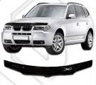 Plexi lišta přední kapoty BMW X3 E83