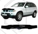 Plexi lišta přední kapoty BMW X5 E53 facelift JJ Automotive