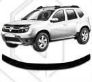 Plexi lišta přední kapoty Dacia Duster