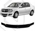 Plexi lišta přední kapoty Dacia Logan I facelift