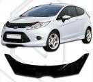 Plexi lišta přední kapoty Ford Fiesta