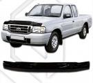 Plexi lišta přední kapoty Ford Ranger