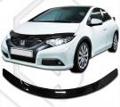 Plexi lišta přední kapoty Honda Civic 5D
