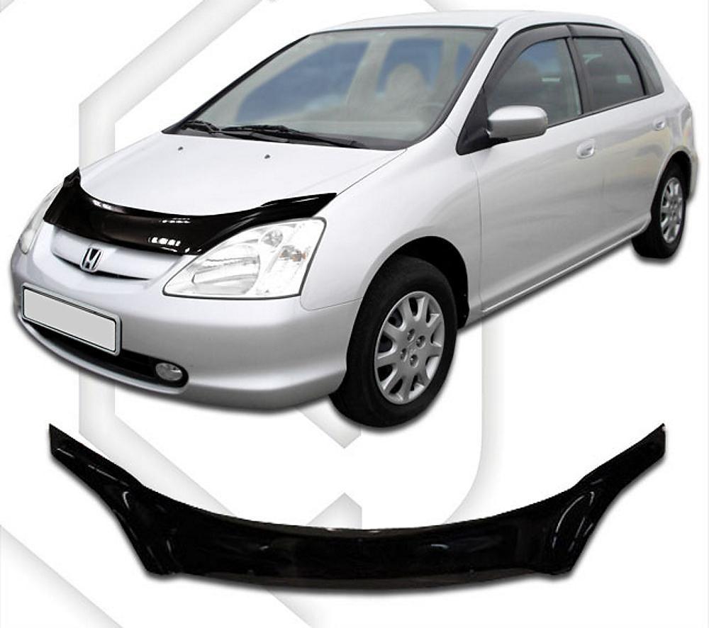 Plexi lišta přední kapoty Honda Civic HTB