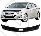 Plexi lišta přední kapoty Hyundai i40 sedan