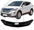 Plexi lišta přední kapoty Hyundai Santa Fe III