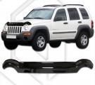 Plexi lišta přední kapoty Jeep Cherokee
