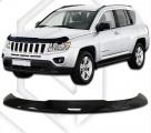Plexi lišta přední kapoty Jeep Compass