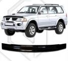 Plexi lišta přední kapoty Mitsubishi Pajero / Montero Sport