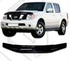 Plexi lišta přední kapoty Nissan Navara
