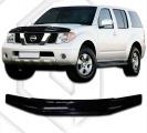 Plexi lišta přední kapoty Nissan Pathfinder