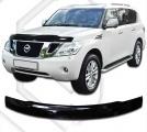 Plexi lišta přední kapoty Nissan Patrol, od r.v. 2011 -