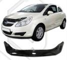 Plexi lišta přední kapoty Opel Corsa D