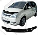 Plexi lišta přední kapoty Opel Meriva A