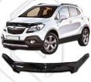 Plexi lišta přední kapoty Opel Mokka