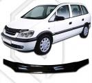 Plexi lišta přední kapoty Opel Zafira A