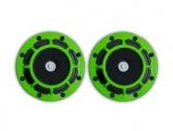 Klaksony kulaté Hella style - zelené