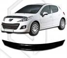 Plexi lišta přední kapoty Peugeot 207