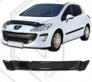 Plexi lišta přední kapoty PEUGEOT 308 hatchback 2009-2011