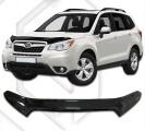 Plexi lišta přední kapoty Subaru Forester, od r.v. 2012 -