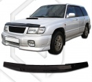 Plexi lišta přední kapoty Subaru Forester, r.v. 1997 - 2000