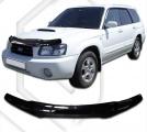 Plexi lišta přední kapoty Subaru Forester, r.v. 2002 - 2005