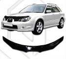 Plexi lišta přední kapoty Subaru Impreza, r.v. 2006 - 2008