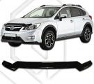 Plexi lišta přední kapoty Subaru XV