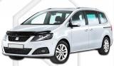 Plexi lišta přední kapoty Seat Alhambra JJ Automotive