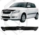 Plexi lišta přední kapoty Škoda Fabia II combi