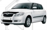 Plexi lišta přední kapoty Škoda Fabia II combi JJ Automotive