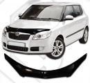 Plexi lišta přední kapoty Škoda Fabia II hatchback