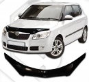 Plexi lišta přední kapoty SKODA Fabia II hatchback 2007-2014