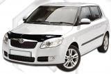 Plexi lišta přední kapoty Škoda Fabia II hatchback JJ Automotive