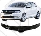 Plexi lišta přední kapoty Škoda Rapid
