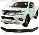 Plexi lišta přední kapoty Toyota Hilux , od r.v. 2015 -