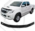 Plexi lišta přední kapoty Toyota Hilux , r.v. 2012 - 2015