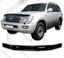 Plexi lišta přední kapoty Toyota Land Cruiser 100
