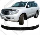 Plexi lišta přední kapoty Toyota Land Cruiser 200