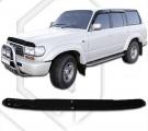 Plexi lišta přední kapoty Toyota Land Cruiser 80