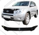 Plexi lišta přední kapoty Toyota Rav4, r.v. 2006 - 2008