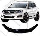 Plexi lišta přední kapoty Volkswagen Tiguan I facelift