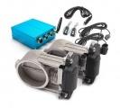 Elektronické výfukové klapky 63,5mm s dálkovým ovladačem (set)